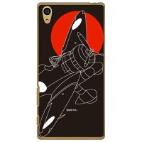 Coverfull 九六式四号 漆黒シルエット クリア design by figeo / for Xperia Z5 501SO/SoftBank SSOXZ5-PCCL-152-M872
