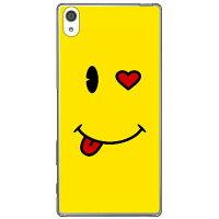 (スマホケース)smile (クリア)/ for Xperia Z5 Premium SO-03H/docomo (Coverfull)