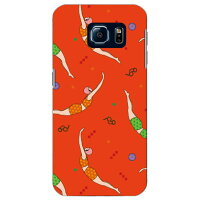 SECOND SKIN YOKEY Swimming Girls / for Galaxy S6 SC-05G/docomo DSC05G-ABWH-193-K68O
