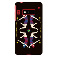 SECOND SKIN YOKEY Modern Girls 03 / for iida INFOBAR A03/au AKYA03-ABWH-193-K68Q