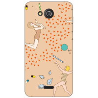 SECOND SKIN YOKEY Milky Way / for DIGNO C 404KC/Y!mobile YKYDGC-ABWH-193-K68S