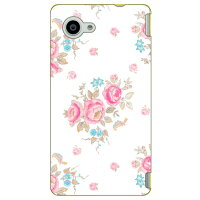 SECOND SKIN SINDEE Tiny Flower / for AQUOS Compact SH-02H/docomo DSH02H-ABWH-193-K62C