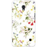 SECOND SKIN SINDEE Natural Flower ホワイト / for Optimus G pro L-04E/docomo DLGL4E-ABWH-193-K68V