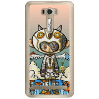 SECOND SKIN ジャイアントロボット クリア design by 326 / for ZenFone 2 Laser 6インチ ZE601KL/MVNOスマホ SIMフリー端末 MAS601-PCCL-326-Y740