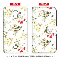 SECOND SKIN 手帳型スマートフォンケース SINDEE Natural Flower ホワイト / for AQUOS CRYSTAL X 402SH/SoftBank SSHCRX-IJTC-401-LJB3