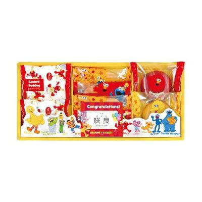 セサミストリート カラフルドーナツ お菓子 りんごジュースと焼き菓子の詰合せ SSM-15