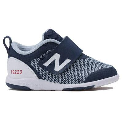 NewBalance/ニューバランス FS223-NVI ベビー シューズ ネイビー