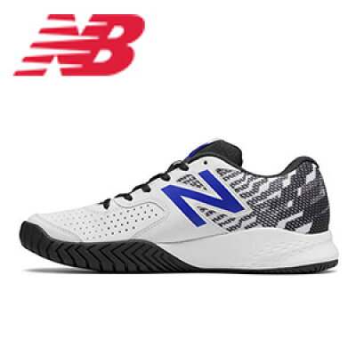 ニューバランス テニスシューズ オールコート MCH6962E P3 ホワイト/ブルー