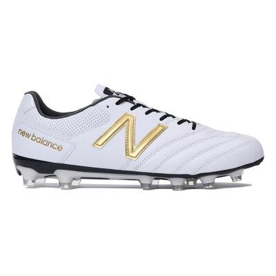 ニューバランス New Balance メンズ サッカー スパイク 442 PRO HG ホワイト/ゴールド MSCKH WG1 2E