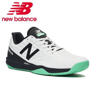 ニューバランス New Balance メンズ テニスシューズ オールコートモデル ホワイト/ブラック MCH796 K1 2E