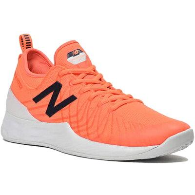 ニューバランス New Balance メンズ テニスシューズ オムニ/クレーコートモデル オレンジ/ホワイト MCOLAVHE 2E