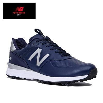ニューバランス New Balance メンズ ゴルフシューズ シューレースタイプ MG574V2 26.0cm/ネイビー MG574V2_H2