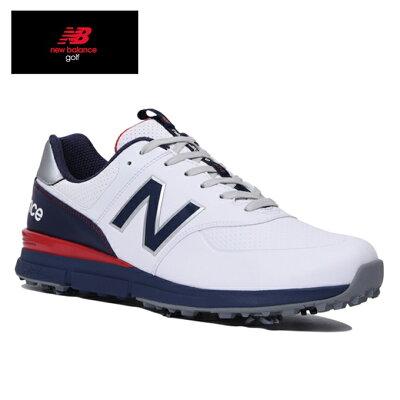 ニューバランス New Balance メンズ ゴルフシューズ シューレースタイプ MG574V2 26.0cm/トリコロール MG574V2_TR2