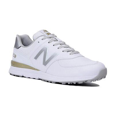 ニューバランス ゴルフ MGS574 V2 ゴルフシューズ メンズ レディース ユニセックス 2019モデル スパイクレス シューレース