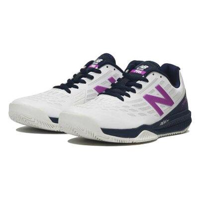 ニューバランス New Balance レディース テニスシューズ オールコートモデル ホワイト/バイオレット WCH796 K1 D