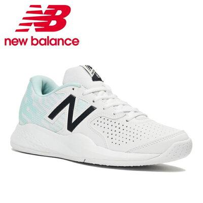 ニューバランス New Balance TENNIS WCO696V3 WCO696L32E WHITE/REEF 23.0cm