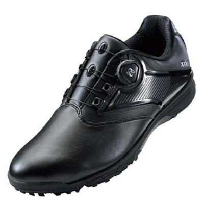 アシックス メンズ ゴルフシューズ GEL-TUSK 2 Boa 27.5cm/ブラック×ブラック TGN921