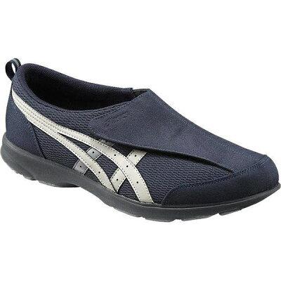 アシックスジャパン ライフウォーカー101ピーコート×フェザーグレー24.0