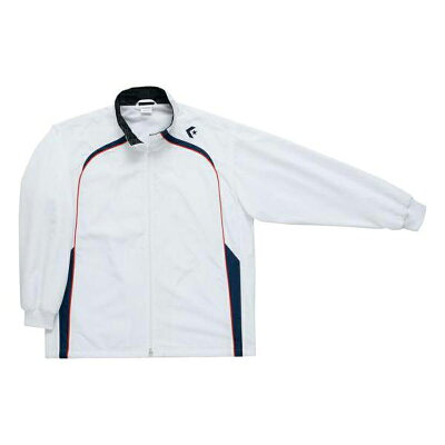 CB162501S-1129-O コンバース ウォームアップジャケット ホワイト/ネイビー・O CONVERSE CB162501S1129O