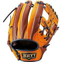 Z-BPGB13710-5600-LH ゼット 硬式野球用グラブ 女子用 オレンジ・右投用 ZETT NEOSTATUS ネオステイタス 内野手用 ZBPGB137105600LH