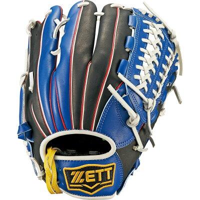 Z-BSGB52720-2319-LH ゼット ソフトボール用グラブ 3号女子用 ブルー/ブラック・右投用 ZETT リアライズ オールラウンド用 ZBSGB527202319LH