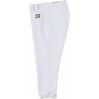 野球用 練習着 少年用ユニフォーム ヒザ2重補強レギュラーパンツ サイズ:160 カラー:ホワイト #BU2182P-1100