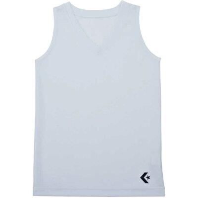 コンバース 9S_ガールズゲームインナーシャツ CB482701 色 : ホワイト サイズ : 150