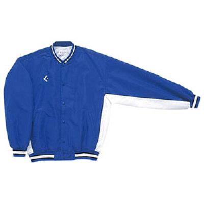 コンバース 8F_ジュニアウォームアップジャケット CB482501S 色 : Rブルー/ホワイト サイズ : 150