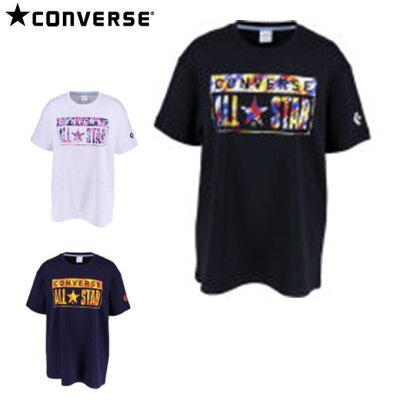 プリントtシャツ レディース サイズ:m カラー:ブラック ホワイト#cb391303- ンバース