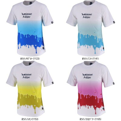 コンバース 9S_Tシャツ スソラウンド CBE291317 色 : ホワイト/Hブルー サイズ : M