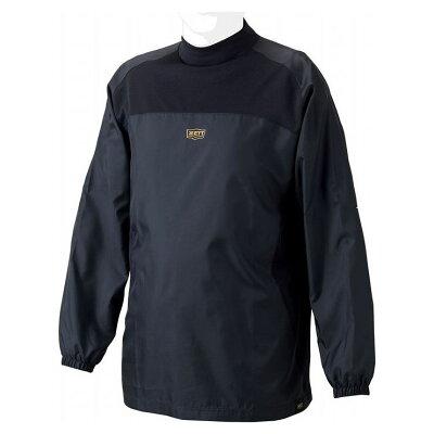 ZETT/ゼット 少年用 ウインドレイヤーシャツ 130cm ブラック BO215WJ-1900