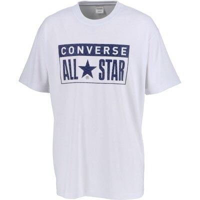 コンバース 0S_プリントTシャツ CB201364 色 : ホワイト/ネイビー サイズ : L