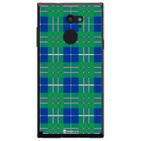 SECOND SKIN Tartan check グリーン クリア design by Moisture / for arrows RM02/MVNOスマホ SIMフリー端末 MFJM02-PCCL-277-Y469