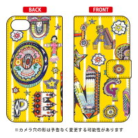 SECOND SKIN 手帳型スマートフォンケース 若林夏 decoration togo / for Xperia Z5 Compact SO-02H/docomo DSO02H-IJTC-401-LJ70
