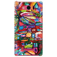 SECOND SKIN Mie Stone pavement / for AQUOS PHONE Xx mini 303SH/SoftBank SSH303-ABWH-193-K696