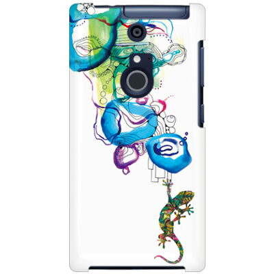 SECOND SKIN Mie トカゲ Water surface / for ARROWS NX F-01F/docomo DFJF1F-ABWH-193-K69H