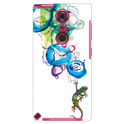 SECOND SKIN Mie トカゲ Water surface / for ARROWS NX F-05F/docomo DFJF5F-ABWH-193-K69H