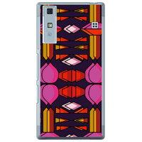 スマートフォンケース  光沢なし  ファンシー アバキャス  クリア Qua phone  V37/au