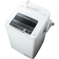 HITACHI 白い約束 全自動洗濯機 NW-80C(W)