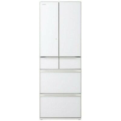 HITACHI まるごとチルド 6ドア冷蔵庫 R-HW52K(XW)