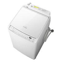 HITACHI ビートウォッシュ 縦型洗濯乾燥機 BW-DV80G(W)
