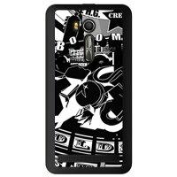 (スマホケース)オールドスクール (クリア)/ for ZenFone Go ZB551KL/MVNOスマホ(SIMフリー端末)(SECOND SKIN)