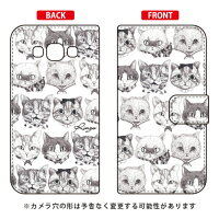スマートフォンケース  手帳型 6匹のネコズ  Ringo /    Galaxy A8 SCV32/au