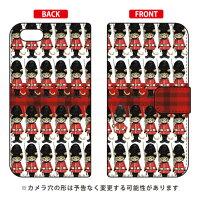 (スマホケース)手帳型スマートフォンケース 兵隊にゃんこ design by Ringo / for iPhone SE/5s/au (Coverfull)