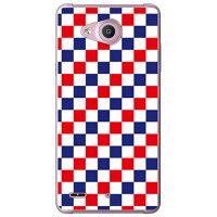 (スマホケース)トリコロール フラッグ (クリア)/ for Qua phone PX LGV33/au (SECOND SKIN)