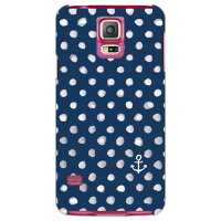 (スマホケース)uistore 「Dot (Anchor)」 / for GALAXY S5 SC-04F/docomo (SECOND SKIN)
