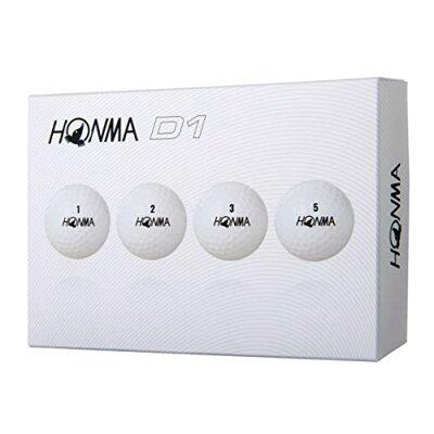HONMA ゴルフボール HONMA New-D1 ボール《1ダース(12球)/ホワイト》BT18012018年モデル