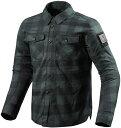 FSO006-1150-S レブイット REVIT バイソン オーバーシャツ ダークグレー/ブラック S