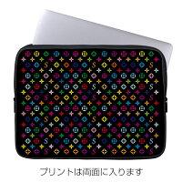 スマートフォンケース  10インチ ノートPC  タブレットケース Monogram ブラック  ROTM デザイン 10インチ