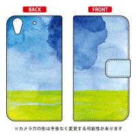 (スマホケース)手帳型スマートフォンケース kanoco 「溶ける月」 / for HTC Desire 626/MVNOスマホ(SIMフリー端末)(SECOND SKIN)